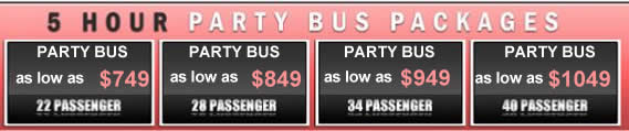 Hourly DC Party Bus