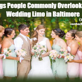 wedding limo Baltimore