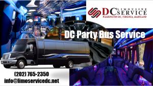 Washington DC Party Bus