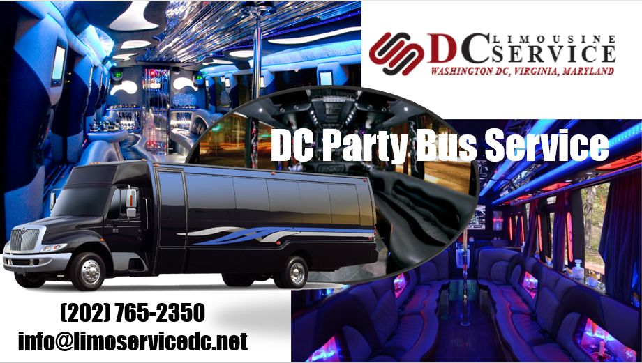 Washington DC Party Bus