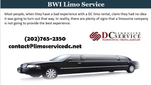 BWI limo