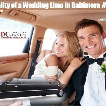 wedding limo in Baltimore
