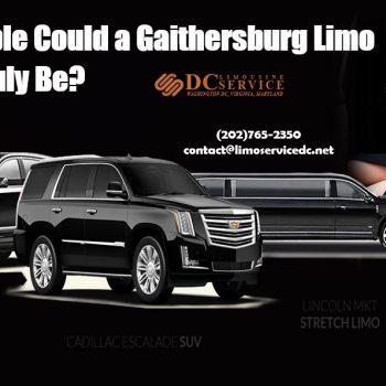 Gaithersburg Limo Service