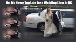 Wedding Limo in DC