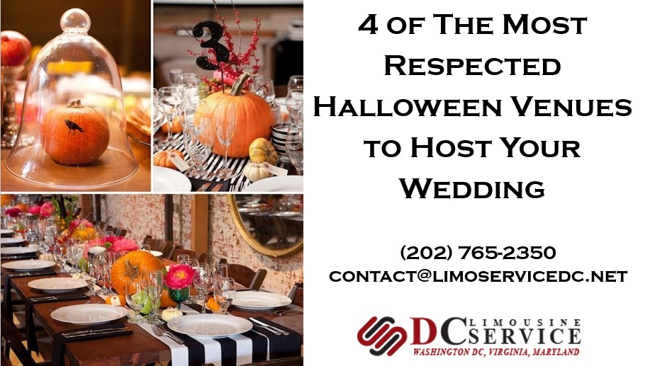 4 Spectacular Venues for Your Halloween Wedding