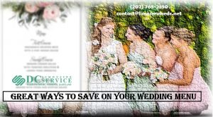 Besides the venue, which usually comprises of most of your wedding budget