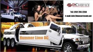 Black Hummer Limo DC