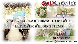 Great Ideas for Your Leftover Wedding Items