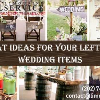 7 Spectacular Things to Do with Leftover Wedding Items