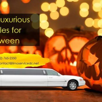 Ride in Luxurious Limos for Halloween