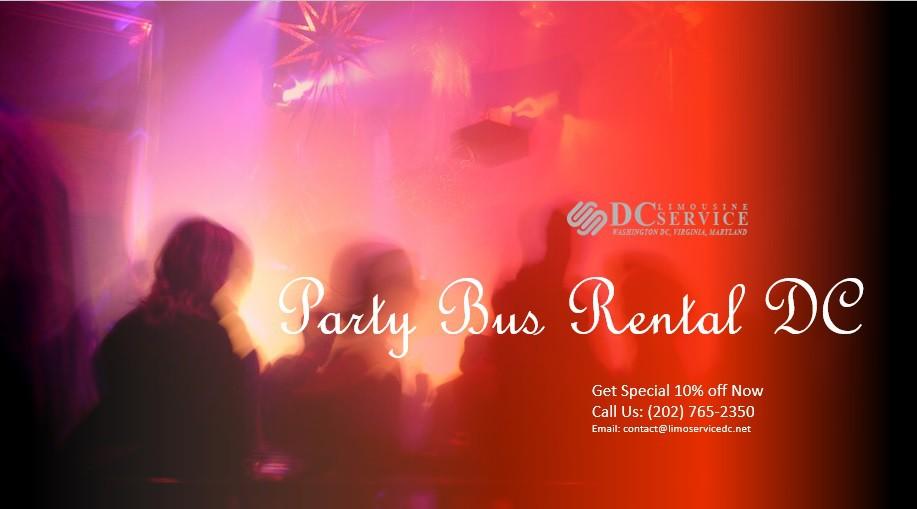 Cheap Party Bus Rental DC