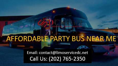 Party Bus Rental Near Me
