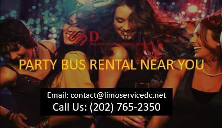 Cheap Party Bus Rental Near Me